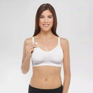 Medela Basics Women's Nursing Seamless Bra White M